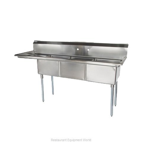 Turbo Air TSA-3-12-L1 Compartment Sink