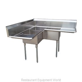 Turbo Air TSA-3C-D1 Compartment Sink