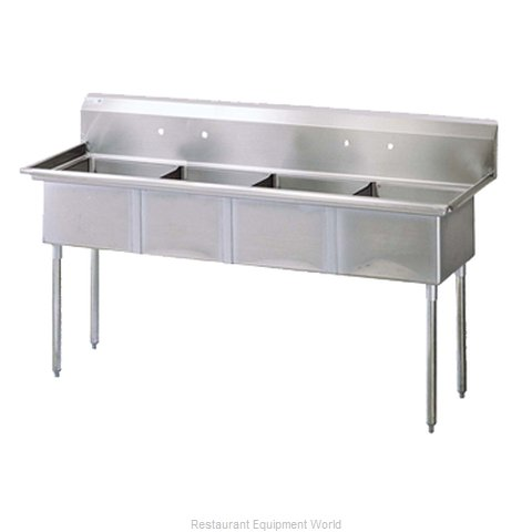 Turbo Air TSA-4-N Compartment Sink