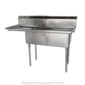 Turbo Air TSB-2-L2 Sink, (2) Two Compartment