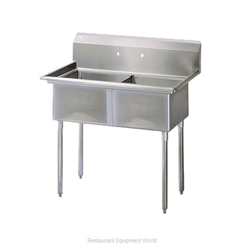Turbo Air TSB-2-N Compartment Sink