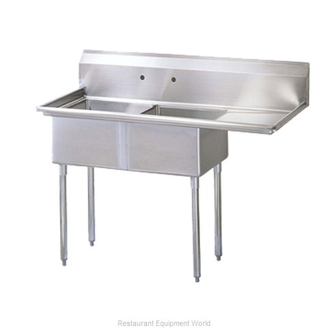 Turbo Air TSB-2-R2 Compartment Sink (Magnified)