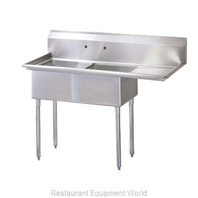 Turbo Air TSB-2-R2 Sink, (2) Two Compartment