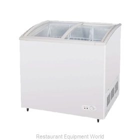 Turbo Air TSD-35CF Freezer Frozen Food Horizontal Merchandiser