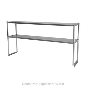 Turbo Air TSOS-4R Overshelf, Table-Mounted