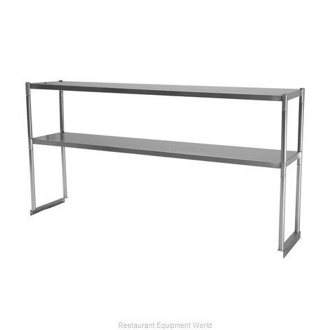 Turbo Air TSOS-5 Overshelf, Table-Mounted (Magnified)