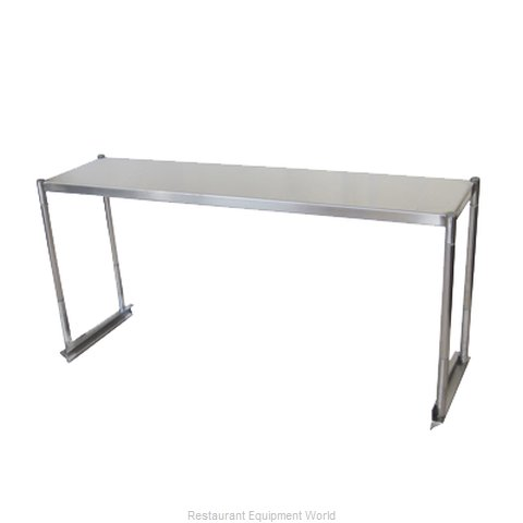 Turbo Air TSOS-P4 Overshelf, Table-Mounted (Magnified)