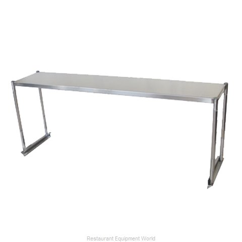 Turbo Air TSOS-P6 Overshelf Table Mounted (Magnified)