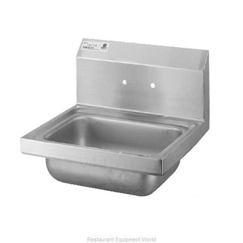 Turbo Air TSS-1-H Sink, Hand (Magnified)