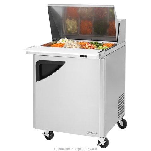 Turbo Air TST-28SD-12-N Refrigerated Counter, Mega Top Sandwich / Salad Unit
