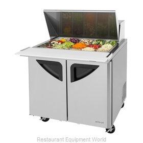 Turbo Air TST-36SD-15-N6 Refrigerated Counter, Mega Top Sandwich / Salad Unit