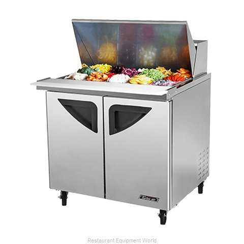 Turbo Air TST-36SD-15 Refrigerated Counter, Mega Top Sandwich / Salad Unit