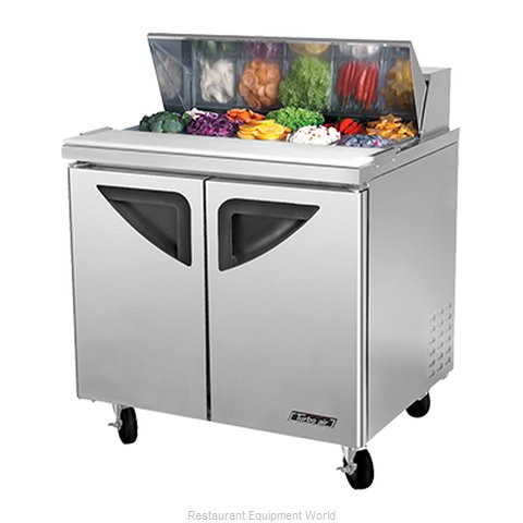 Turbo Air TST-36SD Refrigerated Counter, Sandwich / Salad Top