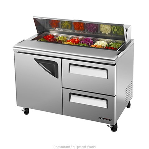Turbo Air TST-48SD-D2 Refrigerated Counter, Sandwich / Salad Top