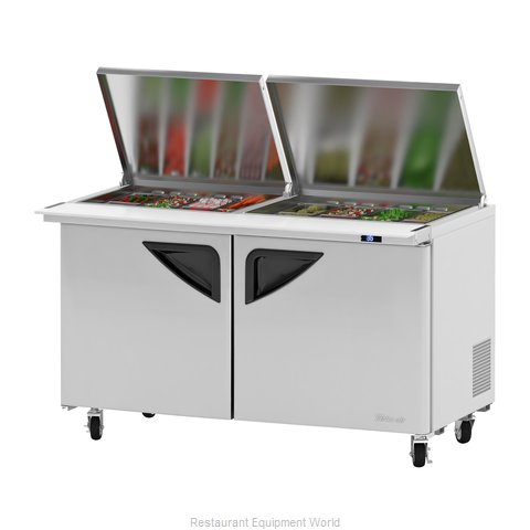 Turbo Air TST-60SD-24-N-FL Refrigerated Counter, Mega Top Sandwich / Salad Unit