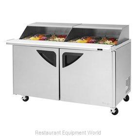 Turbo Air TST-60SD-24-N-SL Refrigerated Counter, Mega Top Sandwich / Salad Unit