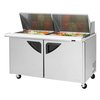 Turbo Air TST-60SD-24-N Refrigerated Counter, Mega Top Sandwich / Salad Unit