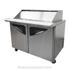 Turbo Air TST-60SD-24-SL Refrigerated Counter, Mega Top Sandwich / Salad Unit