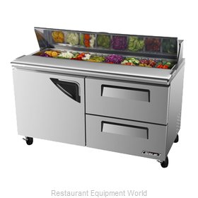 Turbo Air TST-60SD-D2 Refrigerated Counter, Sandwich / Salad Top
