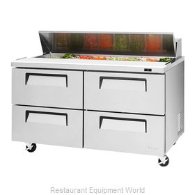Turbo Air TST-60SD-D4-N Refrigerated Counter, Sandwich / Salad Top