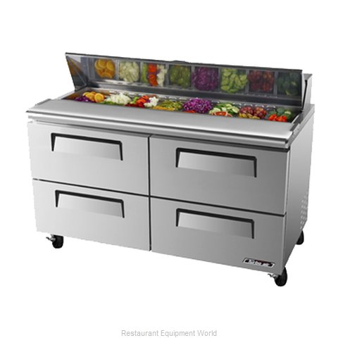 Turbo Air TST-60SD-D4 Refrigerated Counter, Sandwich / Salad Top