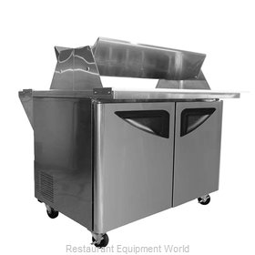 Turbo Air TST-72SD-30-DS Refrigerated Counter, Mega Top Sandwich / Salad Unit