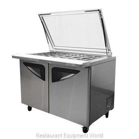Turbo Air TST-72SD-30-GL Refrigerated Counter, Mega Top Sandwich / Salad Unit