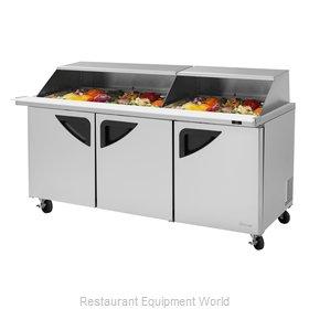Turbo Air TST-72SD-30-N-SL Refrigerated Counter, Mega Top Sandwich / Salad Unit
