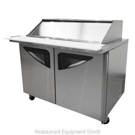Turbo Air TST-72SD-30-SL Refrigerated Counter, Mega Top Sandwich / Salad Unit