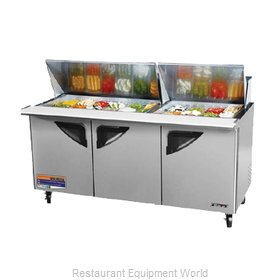 Turbo Air TST-72SD-30 Refrigerated Counter, Mega Top Sandwich / Salad Unit