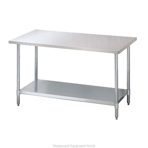 Turbo Air TSW-3048SB Work Table 48 Long Stainless steel Top