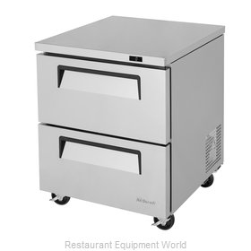 Turbo Air TUF-28SD-D2-N Freezer, Undercounter, Reach-In