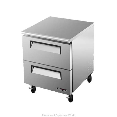 Turbo Air TUF-28SD-D2 Freezer, Undercounter, Reach-In