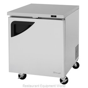 Turbo Air TUF-28SD-N Freezer, Undercounter, Reach-In