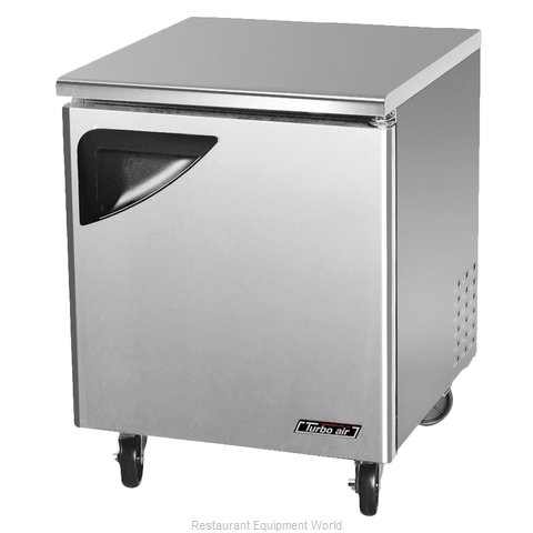 Turbo Air TUF-28SD Reach-In Undercounter Freezer 1 section