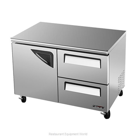 Turbo Air TUF-48SD-D2 Freezer, Undercounter, Reach-In (Magnified)