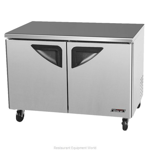 Turbo Air TUF-48SD Reach-In Undercounter Freezer 2 section