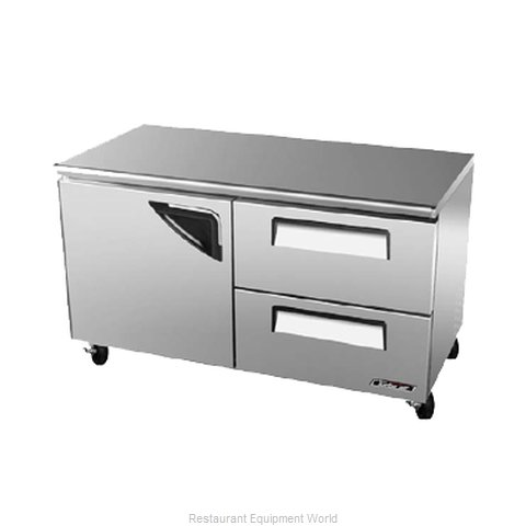 Turbo Air TUR-60SD-D2 Undercounter Refrigerator