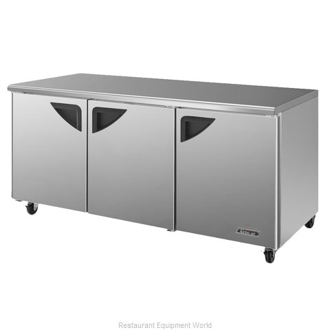 Turbo Air TUR-72SD Refrigerator, Undercounter, Reach-In (Magnified)