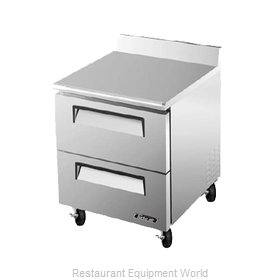 Turbo Air TWF-28SD-D2 Freezer Counter Work Top