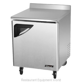 Turbo Air TWF-28SD Freezer Counter, Work Top
