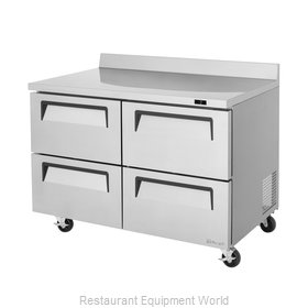 Turbo Air TWF-48SD-D4-N Freezer Counter, Work Top