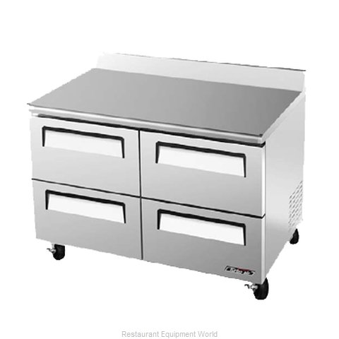 Turbo Air TWF-48SD-D4 Freezer Counter, Work Top