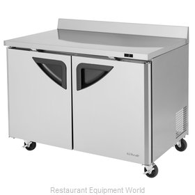 Turbo Air TWF-48SD-N Freezer Counter, Work Top
