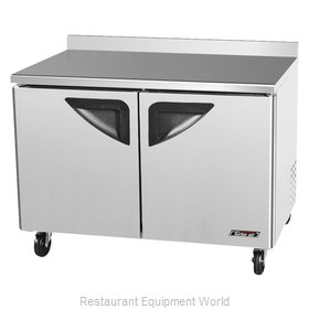 Turbo Air TWF-48SD Freezer Counter, Work Top