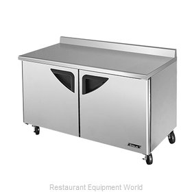 Turbo Air TWF-60SD Freezer Counter, Work Top