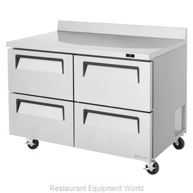 Turbo Air TWR-48SD-D4-N Refrigerated Counter, Work Top