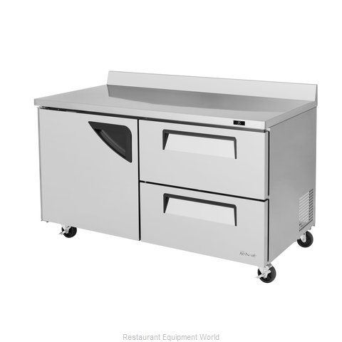 Turbo Air TWR-60SD-D2-N Refrigerated Counter, Work Top
