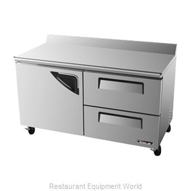 Turbo Air TWR-60SD-D2 Refrigerated Counter, Work Top