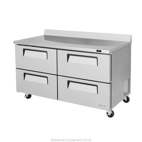 Turbo Air TWR-60SD-D4-N Refrigerated Counter, Work Top